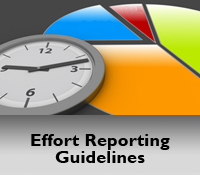 Effort Reporting Guidelines, Policies, Definitions